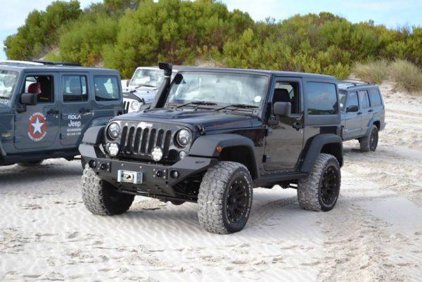 Maniac Classic Front Bumper for Jeep Wrangler JK JKU