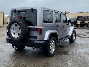 Maniac Classic Rear Bumper for Jeep Wrangler JK JKU